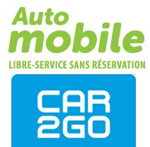 Pratique les voitures en libre service !