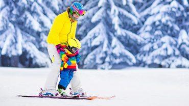 Équiper la famille pour les sports d'hiver