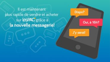 La messagerie LesPAC!