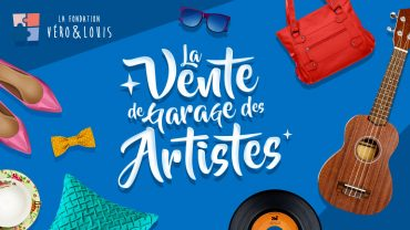 LesPAC, fier partenaire de la  3ème édition de la Vente de garage des artistes!