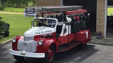 Le premier camion de pompier de la Ville de La Sarre en vente sur LesPAC!