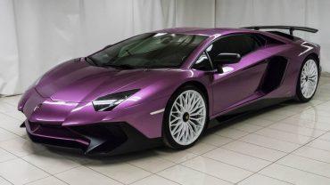 Une Lamborghini Aventador unique au monde en vente sur LesPAC!