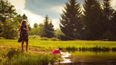 Initier ses enfants à la pêche