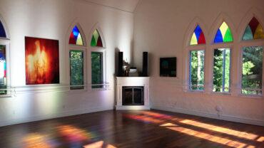 Location rare : une chapelle transformée en maison à louer pour le temps des fêtes!