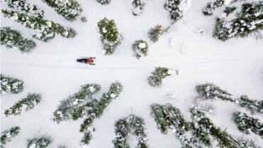 Les plus beaux sentiers de motoneige au Québec